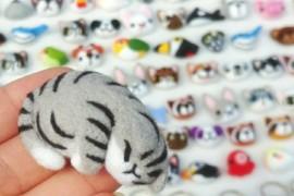 【識手作設計】懶洋洋的小貓兒